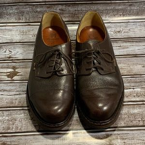 Mephisto Cap Toe Oxford Shoes France